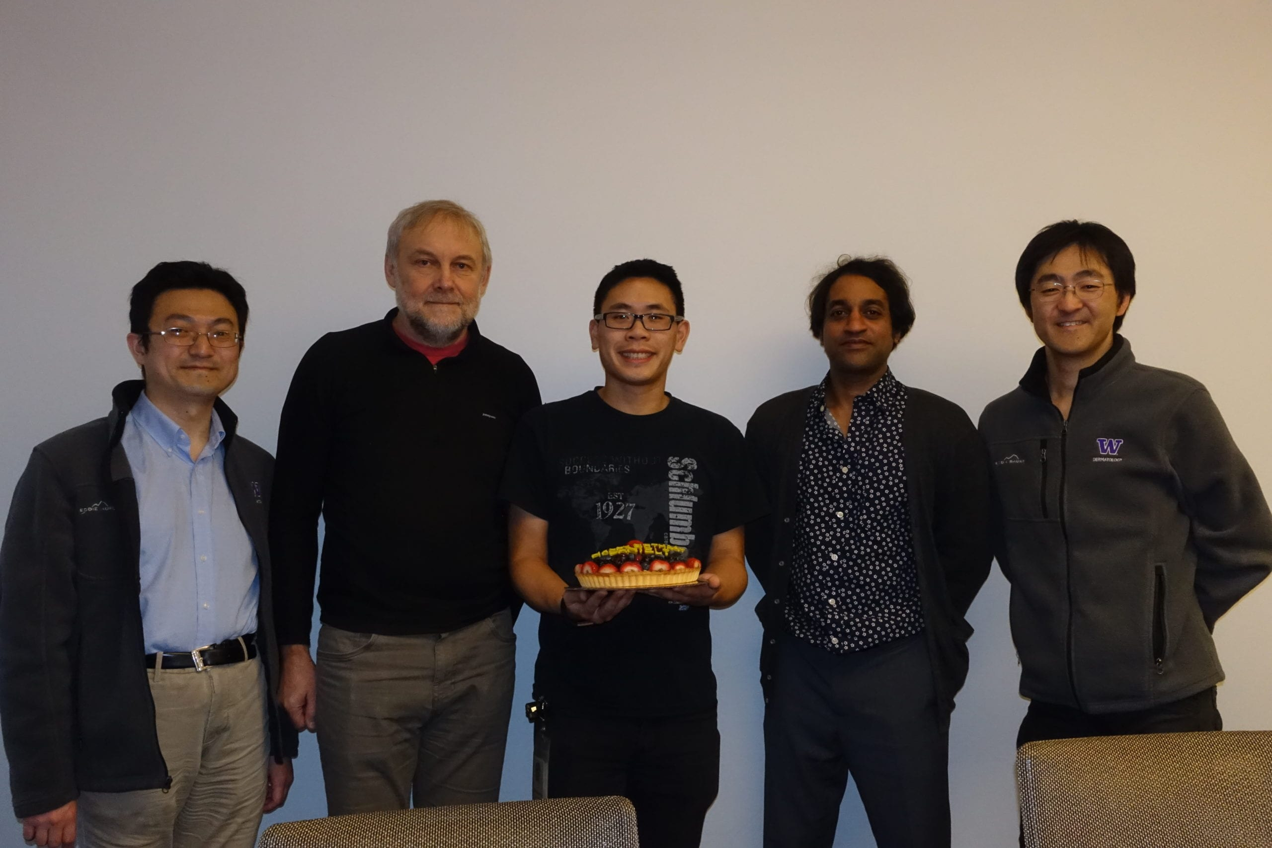 Dr. Kajan Ratnakumar Visited The Kawasumi Lab