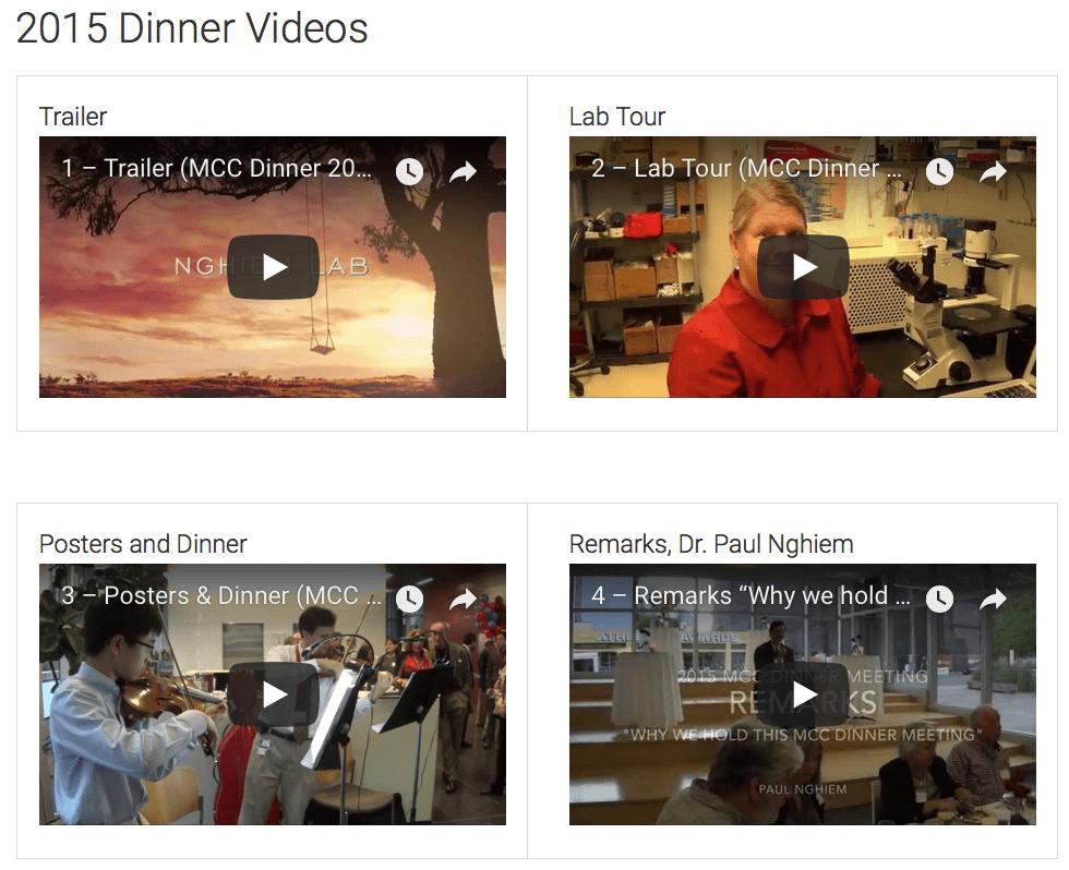 MCC Dinner Meeting