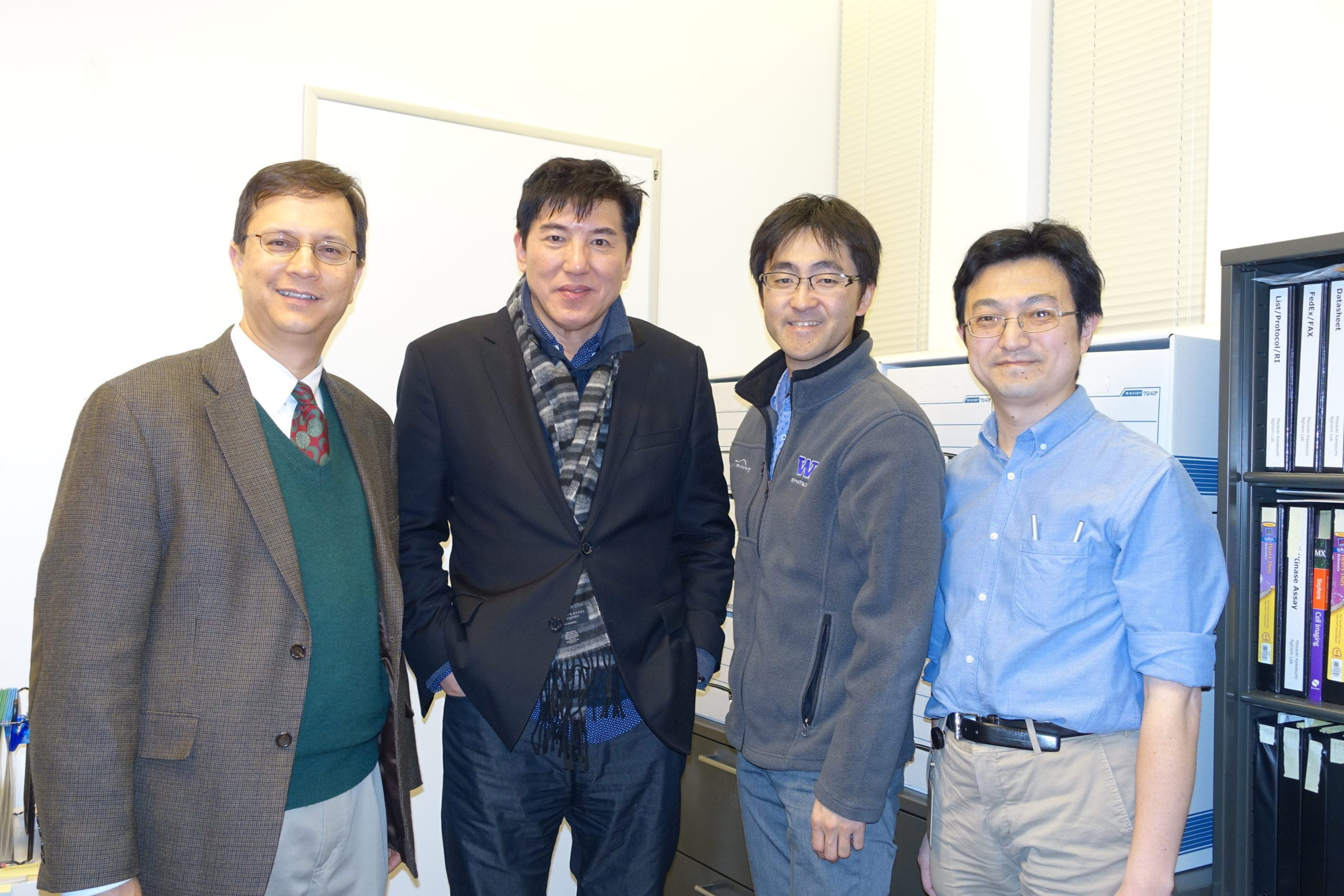 Dr. Sam Lee Visited The Kawasumi Lab