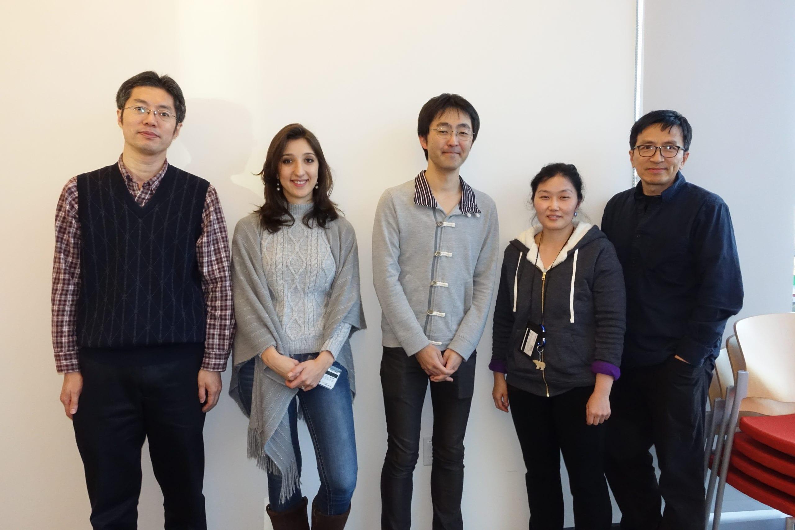 With Elkon Lab Members